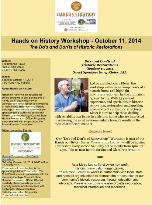 Hands on History Workshop